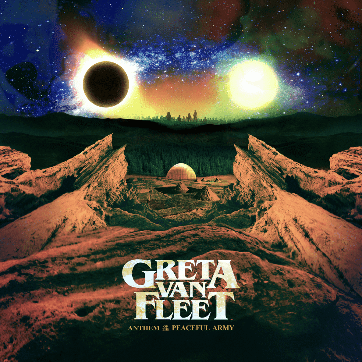 Anthem of the Peaceful Army Greta Van Fleet auf CD