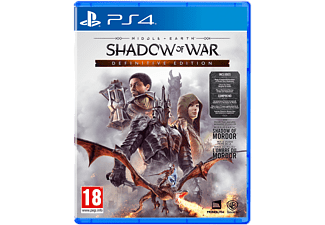 Middle-earth: Shadow of War Definitive Edition NL/FR PS4