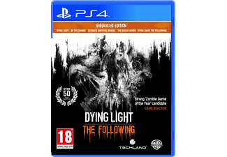 Dying Light: The Following Enhanced Edition FR/NL PS4