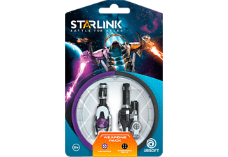 Juguete modular - Starlink Battle For Atlas, Pack De Armas Crusher + Shredder
