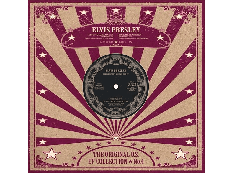Elvis Presley - US  EP Collection Vol. 4 (10 inch/weisses Vinyl) [EP (analog)]