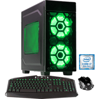 HYRICAN STRIKER 6058 GREEN, Gaming PC mit Core™ i7 Prozessor, 16 GB RAM, 500 GB SSD, 2 TB HDD, GeForce® RTX 2080 Ti, 11 GB