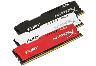 Memoria Ram - Kingston HyperX FURY Memory Black 16GB DDR4 2666MHz Kit 16GB DDR4 2666MHz