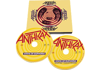 Anthrax - State Of Euphoria (30th Anniversary Edt.) - (CD)