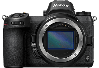 NIKON Z6 Gehäuse Kit Systemkamera 24.5 Megapixel  , 8 cm Display   Touchscreen, WLAN