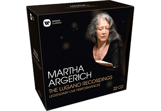 Martha Argerich - The Lugano Recordings CD