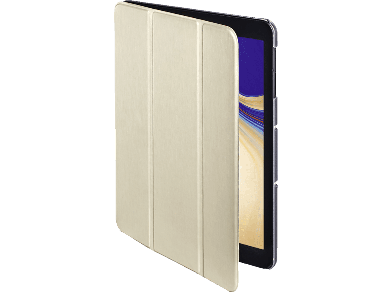 HAMA Fold Clear Tablethülle, Bookcover, Creme