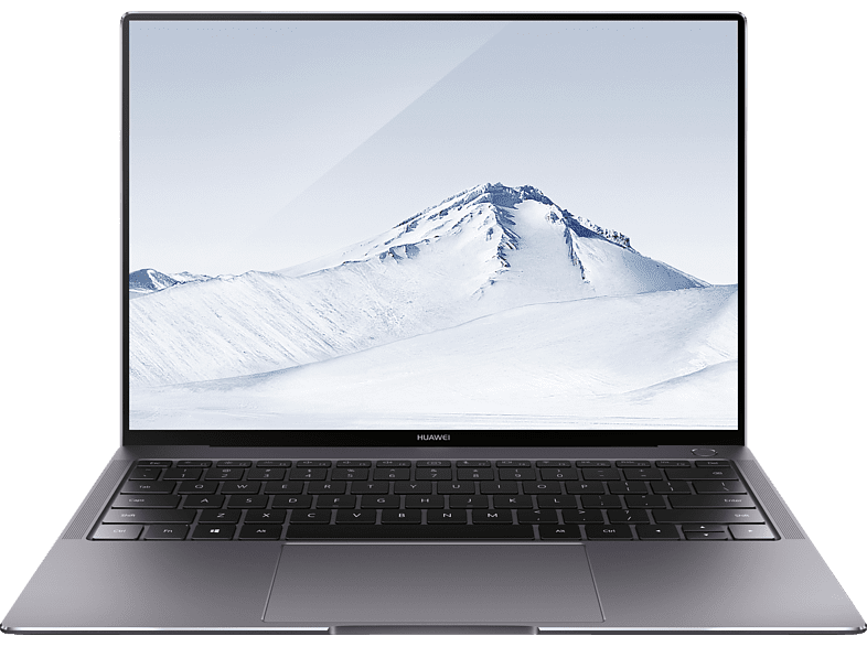 HUAWEI MateBook X Pro W29A, Notebook mit 13.9 Zoll Display, Core™ i7 Prozessor, 8 GB RAM, 512 GB SSD, GeForce® MX150, Grau