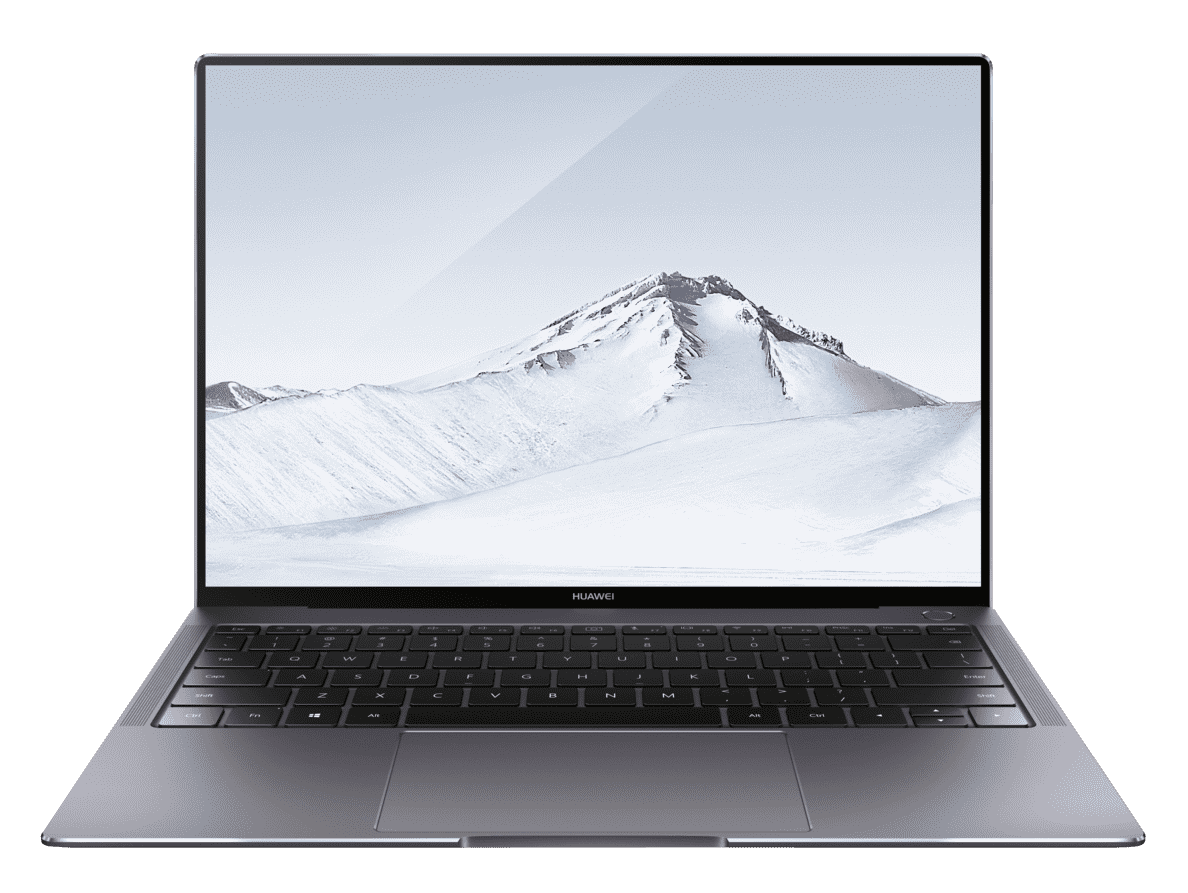 HUAWEI MateBook X Pro W29C Notebook mit Core™ i7, 16 GB RAM, 512 GB & GeForce® MX150 in Grau