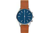 SKAGEN  Holst Smartwatch, Echtleder, 200 mm, Braun