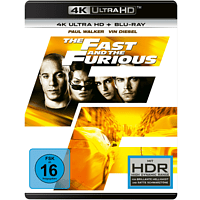 The Fast and the Furious [4K Ultra HD Blu-ray]