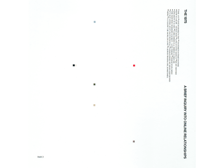 The 1975 - A Brief Inquiry Into Online Relationships (Exklusive Edition) [Vinyl]