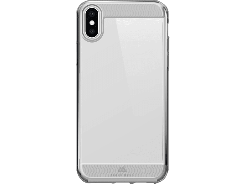 BLACK ROCK Air Robust Backcover Apple iPhone X, iPhone Xs Polycarbonat, Thermoplastisches Polyurethan Transparent