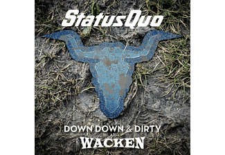 Status Quo Down Down & Dirty Wacken Rock LP + DVD Video