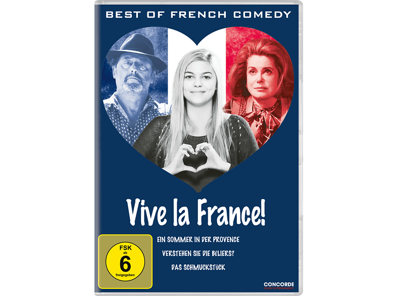 Vive La France! Best of French Comedy [DVD]