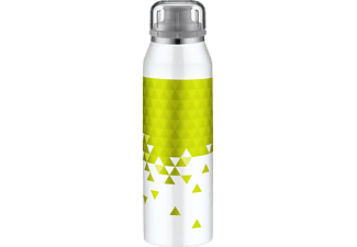 ALFI 5677.122.050 isoBottle Isolierflasche, Weiß/Lime