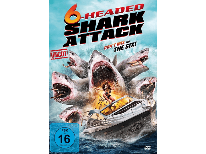 6-Headed Shark Attack - Don't mix with the Six! [DVD]