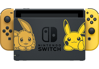 NINTENDO Switch Pokémon Edition + Pokémon Let's Go Pikachu! + Pokéball Plus