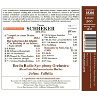 Joann/berlin Rso Falletta - The Birthday Of The Infantia - [CD]