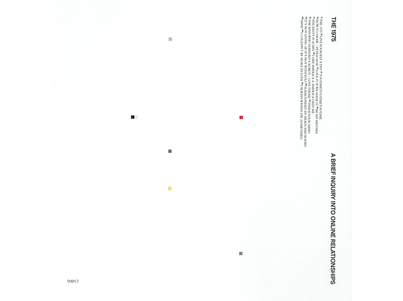 The 1975 - A Brief Inquiry Into Online Relationships  [CD]