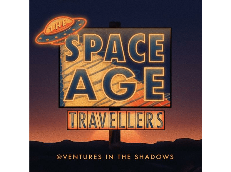 Space Age Travellers - Adventures In The Shadows [CD]