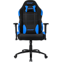 AKRACING CORE EX WIDE Gaming Stuhl, Schwarz/Blau