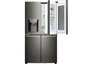 LG GMX936SBHV, French Door, A+, 1797 mm hoch, 912 mm breit, Glossy Black Stainless