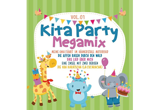 VARIOUS - Kita Party Megamix Vol.1 - (CD)