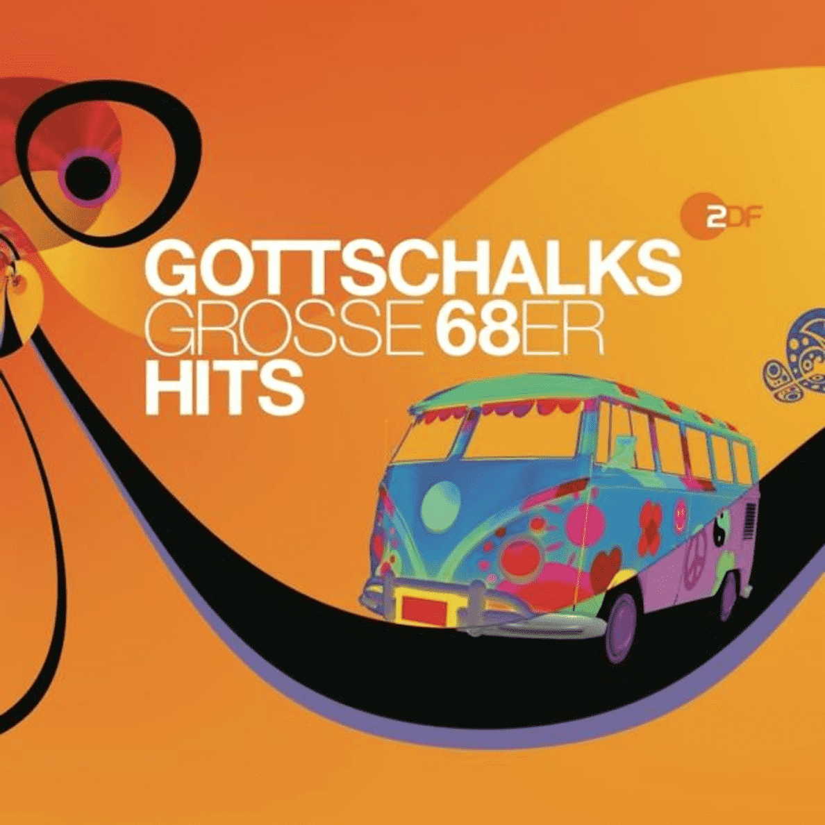 VARIOUS - GOTTSCHALKS GROSSE 68ER HITS - (CD)