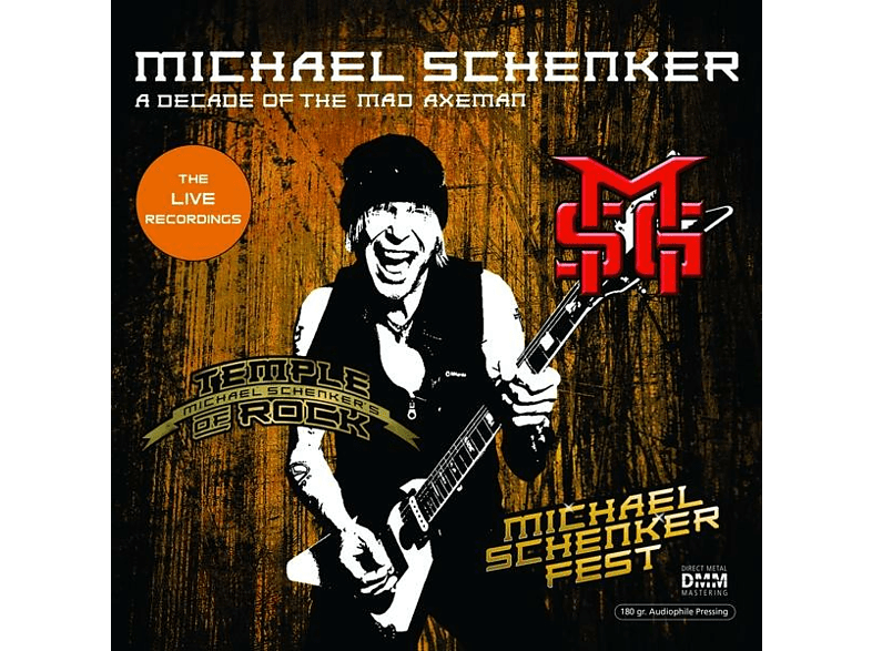 Michael Schenker - A DECADE OF THE MAD AXEMAN/LIVE RECORDINGS (2LP) [Vinyl]