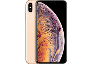 APPLE iPhone XS Max, Smartphone, 512 GB, Gold, Dual SIM