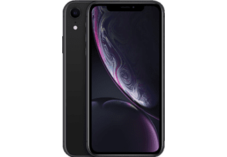 APPLE iPhone XR, Smartphone, 256 GB, Black, Dual SIM
