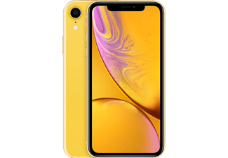 APPLE iPhone XR, Smartphone, 64 GB, Yellow, Dual SIM