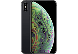 APPLE iPhone XS, Smartphone, 64 GB, Space Gray, Dual SIM