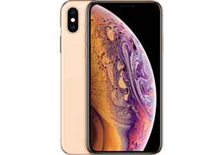APPLE iPhone XS, Smartphone, 512 GB, Gold, Dual SIM