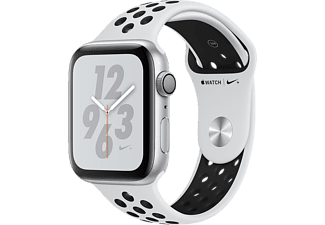 APPLE Watch Series 4 Nike+ - Boîtier aluminium 44mm Silver - Bracelet sport Pure Platinum/Black Nike