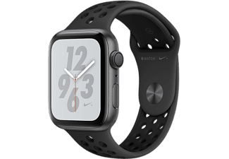 APPLE Watch Series 4 Nike+ - Aluminium behuizing 44mm Space Gray - Sportbandje Anthracite/Black Nike