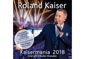 Roland Kaiser - Kaisermania 2018 (Live am Elbufer Dresden)- Das Konzert in voller Länge (Limited Edition) [CD]