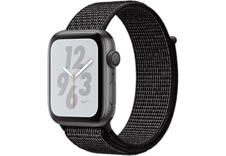 APPLE Watch Series 4 Nike+ - Aluminium behuizing 44mm Space Gray - Loop sportbandje Black Nike