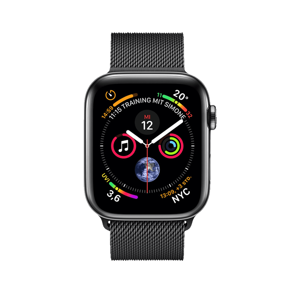 apple watch series 4 gps cellular 44mm smart. Black Bedroom Furniture Sets. Home Design Ideas