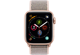 APPLE Watch Series 4 40mm goud aluminium / roze sportloop