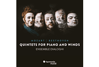 Ensemble Dialoghi - Mozart & Beethoven: Quintets For Piano And Winds [CD]