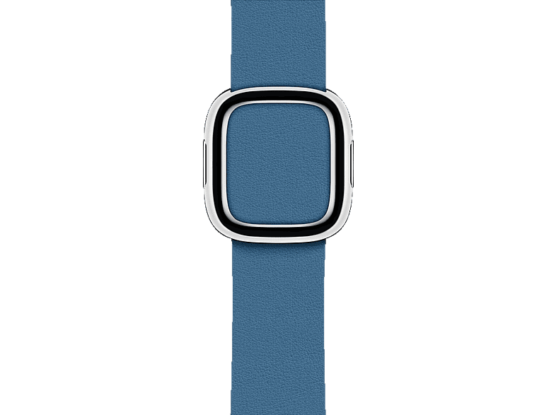 APPLE  40 mm Modernes Lederarmband, Ersatzarmband, Apple, Cape Cod Blau | 00190198845917