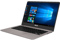 ASUS UX410UF-GV168T, Notebook mit 14 Zoll Display, Core™ i7 Prozessor, 8 GB RAM, 1 TB HDD, 256 GB SSD, GeForce® MX130, Quartz Grey