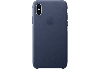 APPLE XS Leder Case Handyhülle, Apple iPhone XS, Blau