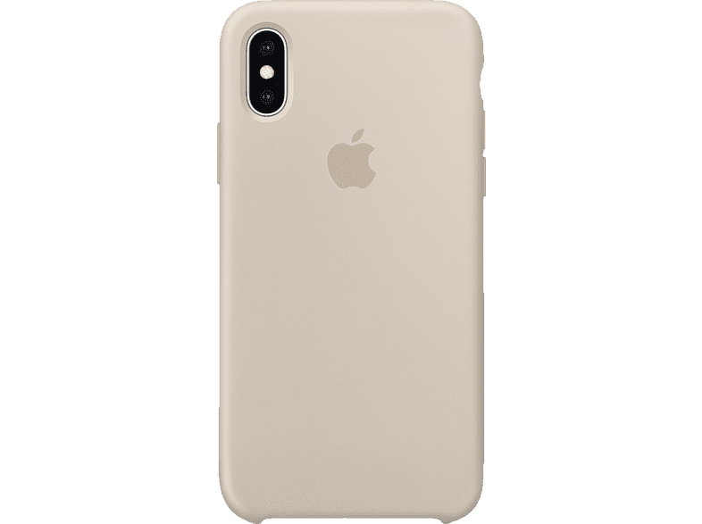 APPLE  XS Silikon Case Backcover Apple iPhone XS Silikon Stein | 00190198763204