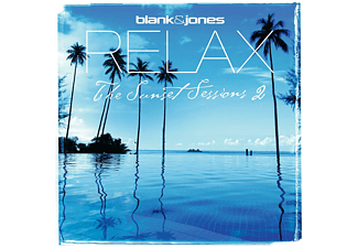 Blank & Jones - Relax-The Sunset Session 2 (White Vinyl) - (Vinyl)