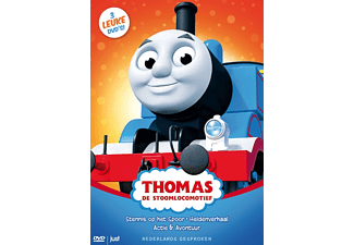 Thomas De Stoomlocomotief Box - DVD