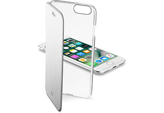 CELLULARLINE Clear Book case met beschermende flap Zilver iPhone 7 (CLEARBOOKIPH747S)