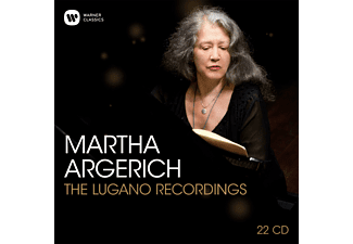 Martha Argerich, VARIOUS - Martha Argerich-The Lugano Recordings - (CD)
